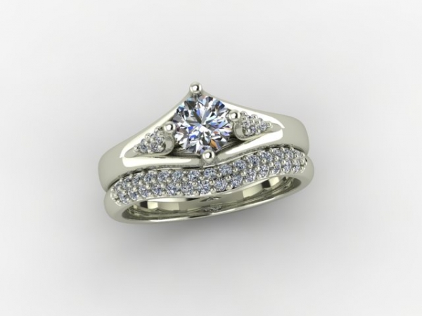 Custom Engagement ring by Patterson